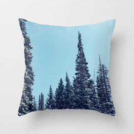 Within the Forest Throw Pillow