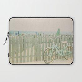 Beach Cruiser Bicycle Laptop Sleeve