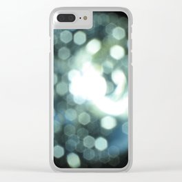 Open Source Intelligence Project - Earth Logo Clear iPhone Case