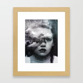 &now Framed Art Print