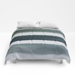 grey strata Comforters