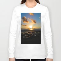ruben ireland Long Sleeve T-shirts featuring Lahinch, Ireland by American Artist Bobby B