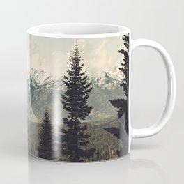Snow capped Sierras Coffee Mug