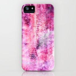 Blueberry icecream iPhone Case