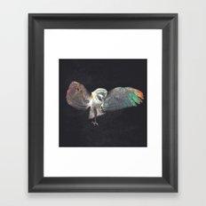 Ugla (Owl) Framed Art Print