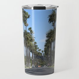 Tall California Palm Trees Photograph Travel Mug