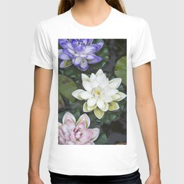 3 Lotus Flowers T-shirt