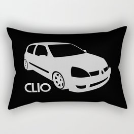 Renault Clio - silver - Rectangular Pillow