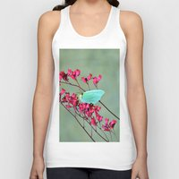 butterfly Tank Tops featuring butterfly by  Agostino Lo Coco