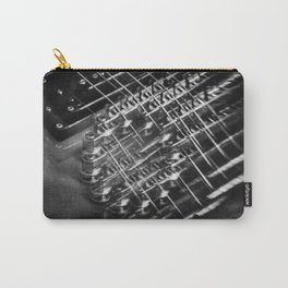 Playing around with an electric guitar Carry-All Pouch