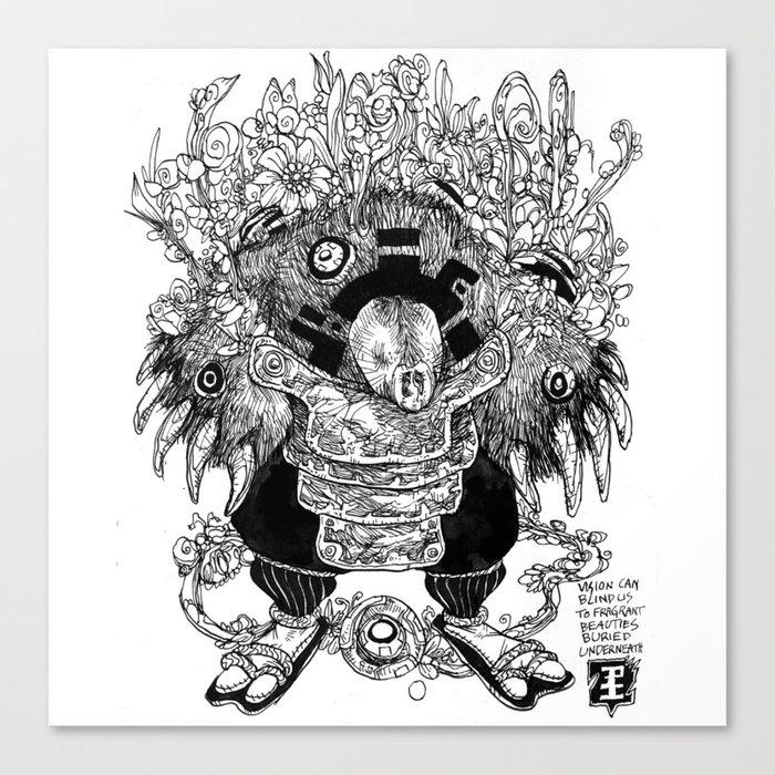 Mole Soul Canvas Print