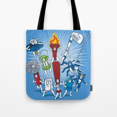 Any resemblance is purely coincidental Tote Bag