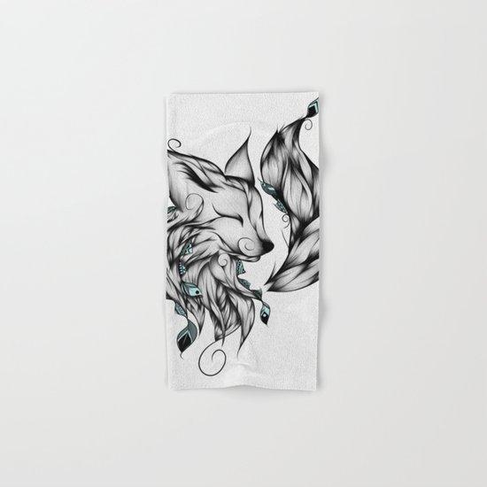 Fox B&W  Hand & Bath Towel