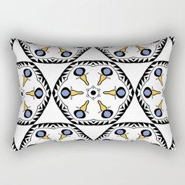 Geometric flower seamless pattern Rectangular Pillow