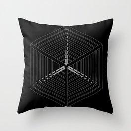 Cube Steps Throw Pillow