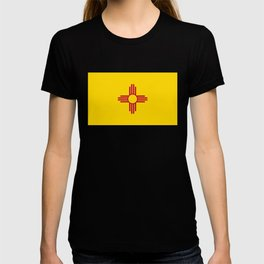 Flag of New Mexico - Authentic High Quality Image T-shirt