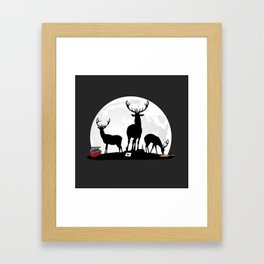 Stag Party Framed Art Print