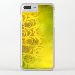 Dirty feathering Clear iPhone Case