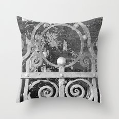 The MAGIC Gate - another dimension Throw Pillow