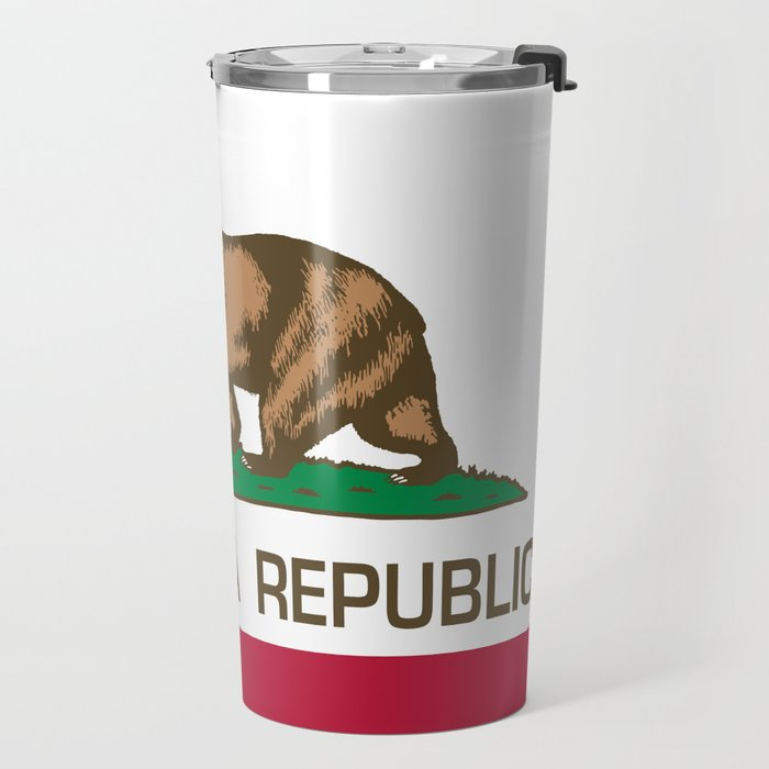 California flag Travel Mug