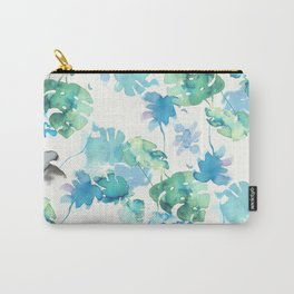 green tropical. collab dylan silva and francisco fonseca Carry-All Pouch