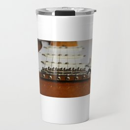 Electric Guitar close up  Travel Mug