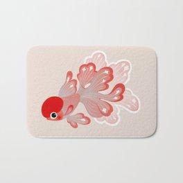 Red cap Oranda Bath Mat