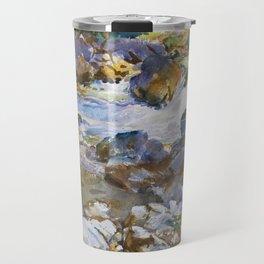 Mountain Stream by John Singer Sargent,1912 Travel Mug