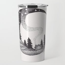 Cabin on the Moon Travel Mug