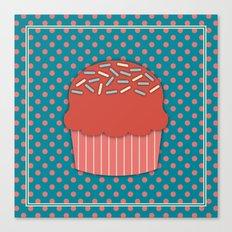 Cupcake 3 Canvas Print