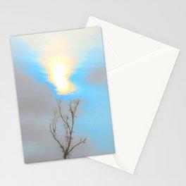 Blue Sunset Stationery Cards