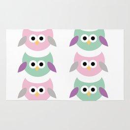 Cute owls Rug
