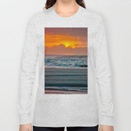 Ocean Sunset - Pacific Coast Highway 101 Long Sleeve T-shirt