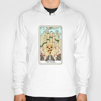 reading Hoodies featuring PIZZA READING by Sagepizza