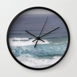 Surfers Paradise Wild West Coast Of Portugal Wall Clock