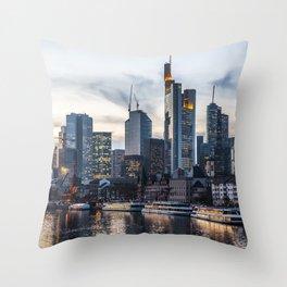 Frankfurt 2 Throw Pillow