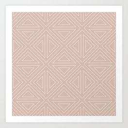 Angled Nude Art Print
