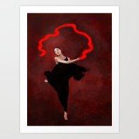 Wind Dance Art Print