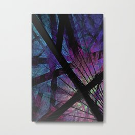 Oh, What A Tangled Web We Weave Metal Print
