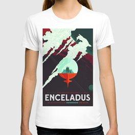 Vintage poster -Enceladus T-shirt