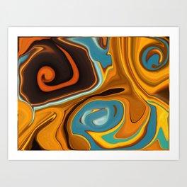 Caramel Dreams Art Print