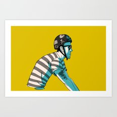 MIKE'S BIKE Art Print