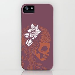Death Becomes Hair iPhone Case