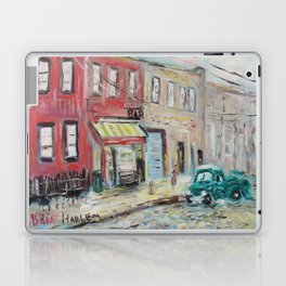 Harlem Blues Bar Laptop & iPad Skin
