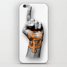 SF #1 iPhone Skin