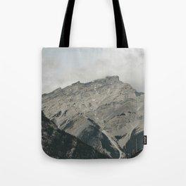 Downtown Banff Tote Bag