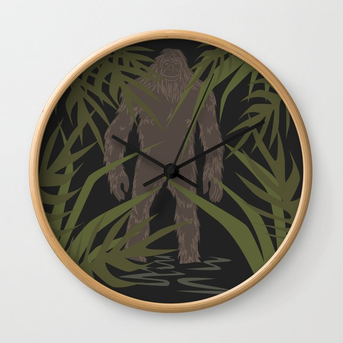 Skunk Ape Wall Clock