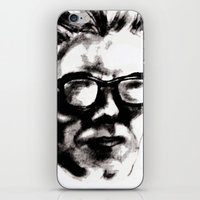 beethoven iPhone & iPod Skins featuring Hipster Beethoven by Hurtin Albertan