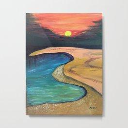 Sun set Metal Print