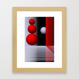 games with geometry -16- Framed Art Print